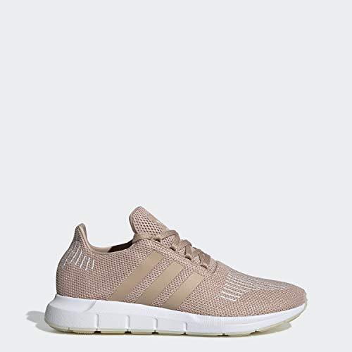 adidas Originals Women's Swift Running Shoe ,ash pearl/off white/white