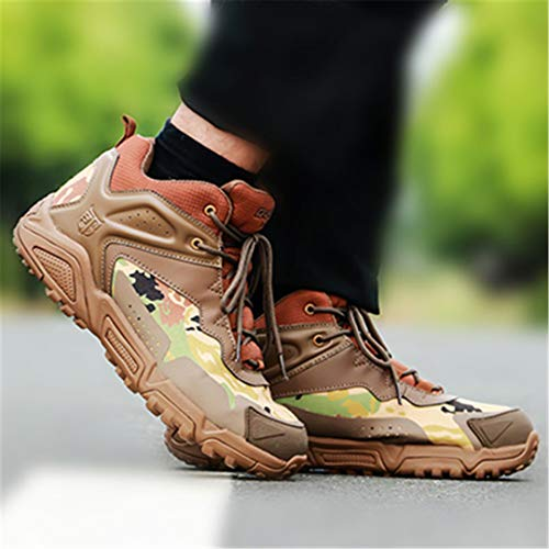 Mens Hiking Shoes Outdoor Camouflage Trekking Boots Tactical Sneakers