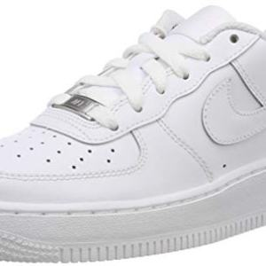 Nike Air Force 1 (GS) Big Kids Sneakers White/White