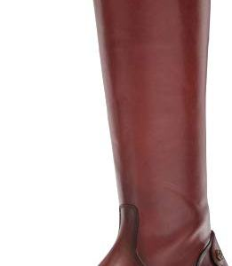 FRYE Women's Melissa Button Back Zip Boot, Cognac