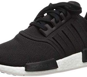 adidas Originals Men's NMD_R1 Running Shoe, Black/Black/Orchid Tint