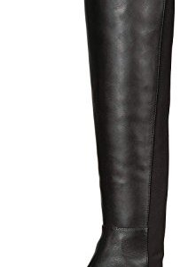 Vince Camuto Womens Karita Leather Closed Toe Knee High