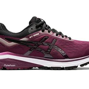 ASICS Women's Running Shoes, 8M, Roselle/Black