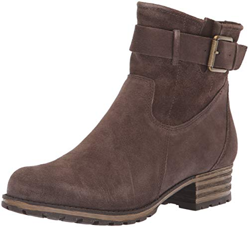 CLARKS Women's Marana Amber Fashion Boot, Taupe Suede