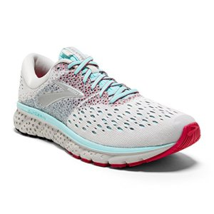 Brooks Womens Glycerin White/Blue/Pink