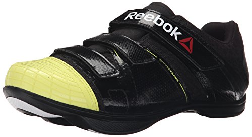Reebok Men's Cycle Attack u-m, Black/High Vis Green/White