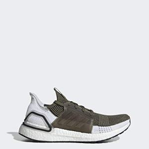 adidas Men's Ultraboost Running Shoe, raw Khaki/Black