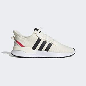 adidas Originals Men's U_Path Running Shoe, Off Off White/Black/shock Red
