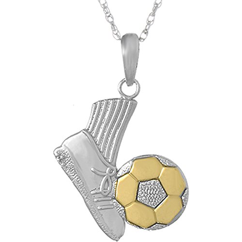 925 Sterling Silver Sports Necklace Charm Pendant