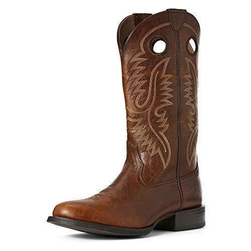Ariat Men's Sport Big Hoss Western Boot, Brown Patina