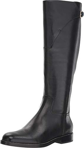 Cole Haan Women's Harrington Grand Riding Boot Black Leather