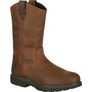 Georgia Mid Calf Boot, Brown