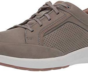 Clarks Men's Un Trail Form Sneaker, Taupe Nubuck