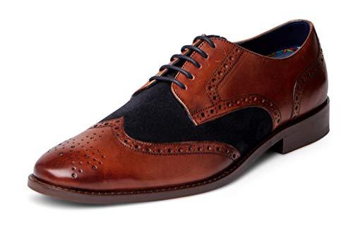Carlos Santana Szabo Men's Designer Derby Oxford Dress Shoe