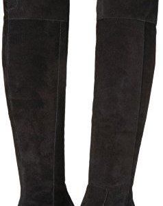 Sam Edelman Women's Elina Black Kid Suede Leather