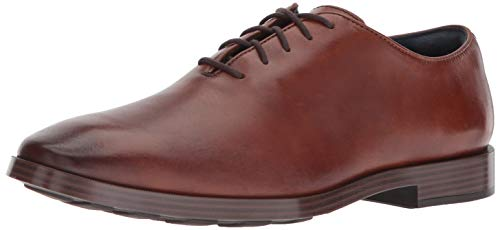 Cole Haan Mens Jefferson Grand Wholecut Ox British Tan