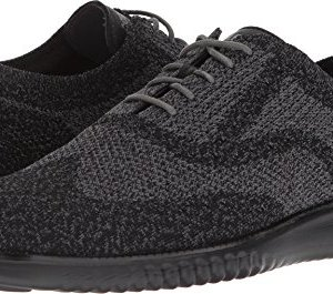 Cole Haan Mens 2.Zerogrand Stitchlite Oxford Black/Magnet/Black