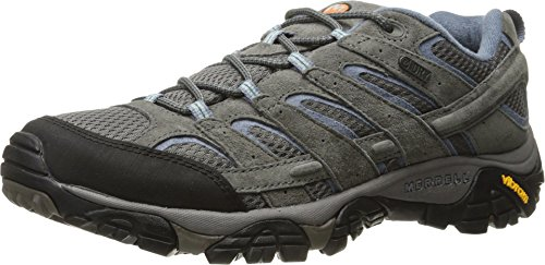 Merrell Women's Moab 2 Waterproof Hiking Shoe, Granite