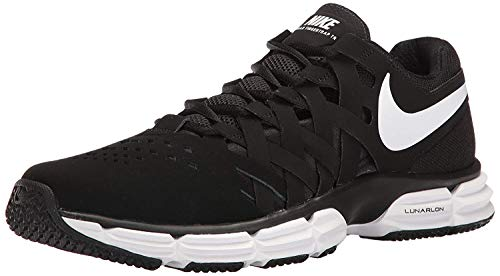 Nike Men's Lunar Fingertrap Trainer Cross, Black/White-Black