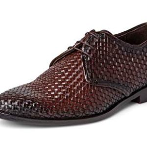 Carlos Santana Jazz Men's Designer Handwoven Oxford Dress Shoe