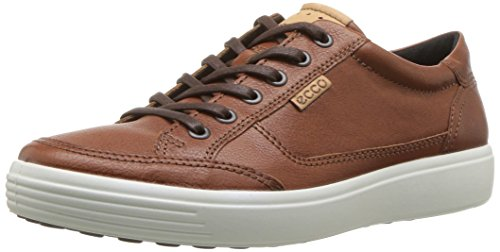 ECCO Men's Soft Sneaker, Cognac
