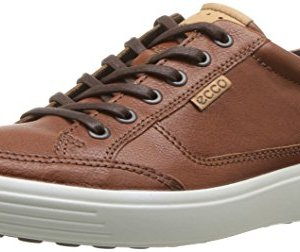 ECCO Men's Soft Sneaker, Cognac