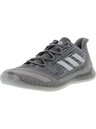 adidas Men's Harden B/E 2 Grey/Cloud White Blue Tint Ankle-High