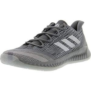adidas Men's Harden B/E 2 Grey/Cloud White Blue Tint Ankle-High