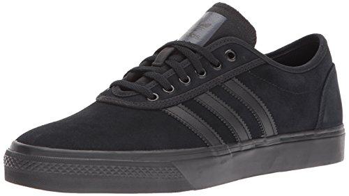 adidas Originals Men's Adiease Sneaker, Black/Black/Black