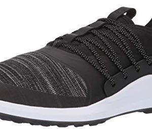 PUMA Golf Men's Ignite Nxt Solelace Golf Shoe, Black Team Gold