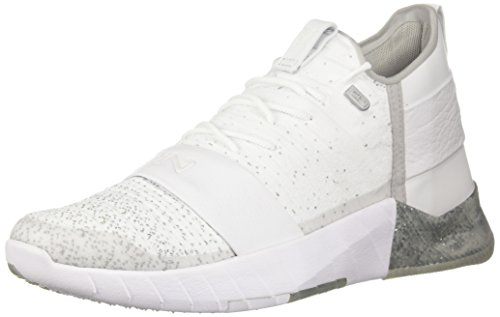 Under Armour Men's Sneaker, White (100)/White