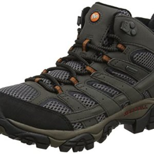 Merrell Men's High Rise Hiking Boots, Grey Beluga