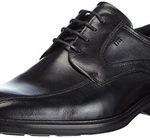 ECCO Men's Illinois Bike Toe Tie Oxford, Black