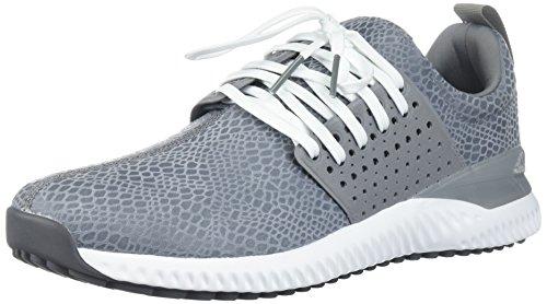 adidas Men's Adicross Bounce Golf Shoe, Grey/White