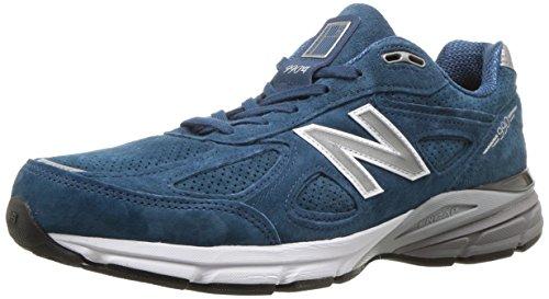New Balance Men's Running Shoe, North Sea/White