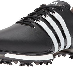 adidas Men's TOUR 2.0 Golf Shoe, Core Black/White