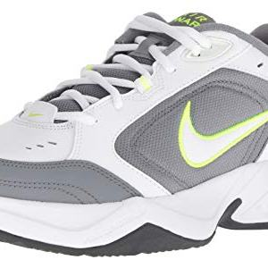 Nike Men's Air Monarch IV Cross Trainer, White/White