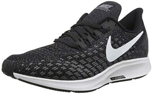 Nike Men's Air Zoom Pegasus Running Shoe Black/White/Gunsmoke/Oil Grey