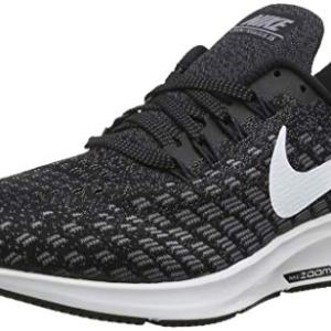 Nike Men's Air Zoom Pegasus Running Shoe Black/White/Gunsmoke/Oil Grey