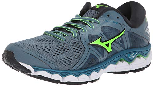 Mizuno Men's Wave Sky 2 Running Shoe, Blue Mirange/Evening Blue