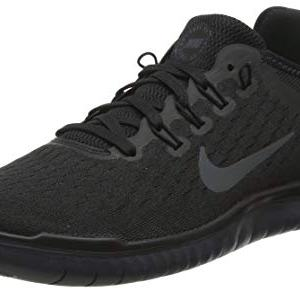 Nike Mens Freen RN 2018 Low Top Lace Up Running, Black/Anthracite