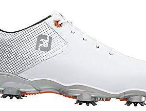 FootJoy Men's D.N.A. Helix-Previous Season Style Golf Shoes White