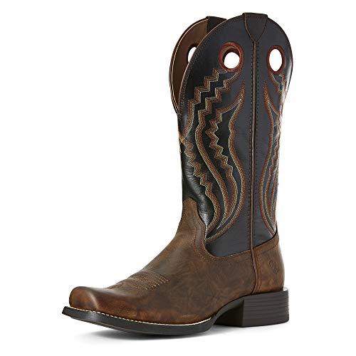 Ariat Men's Sport Picket Line Western Boot, Sasparilla/Black Eclipse