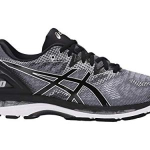 ASICS Men's Gel-Nimbus 20 Running Shoe, Carbon/Black/Silver
