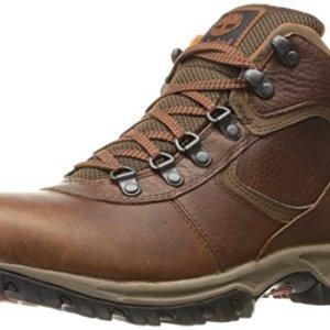Timberland Men's Mt. Maddsen Mid Leather Wp, Medium Brown Full Grain