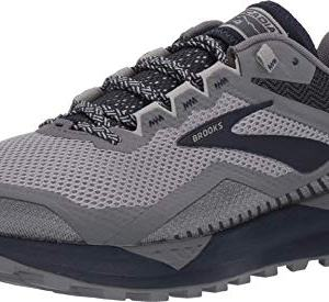 Brooks Men's Cascadia 14, Grey/Navy