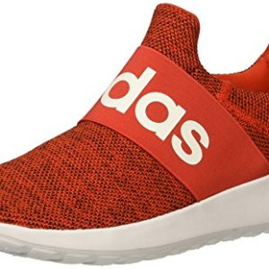 adidas Men's Lite Racer Adapt Running Shoe, core red/White/Black