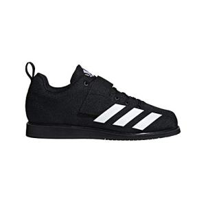 adidas Men's Powerlift 4 Weightlifting Shoe, Black/White/Black