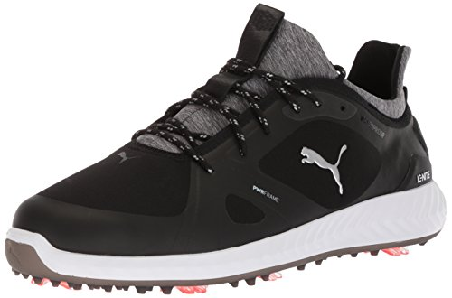 PUMA Golf Men's Ignite Pwradapt Golf Shoe, Black/Black