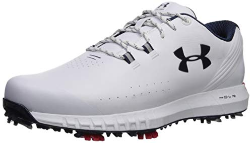 Under Armour Men's HOVR Drive Wide Golf Shoe, White